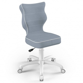 Entelo Good Chair Kinder-Bürostuhl Petit JS06 Ergonomisch Gr.4 Hellblau