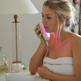 Lumie Lichttherapie-Lampe für Akne Clear Weiß und Blau