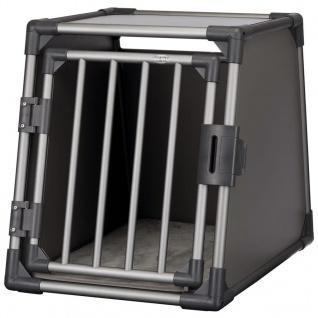 TRIXIE Hunde-Transportbox Größe M Aluminium Graphitgrau 39336