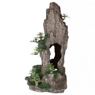 TRIXIE Felsen mit Höhle Aquarium-Dekoration Polyester Resin 8858