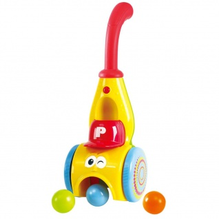Playgo Bunter Ballwerfer mit Sound Gelb 2995