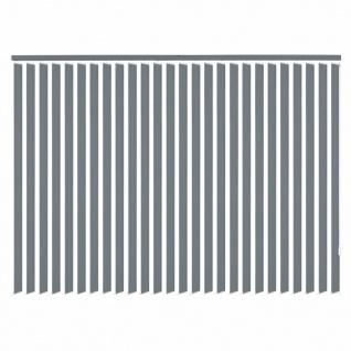 vidaXL Vertikale Jalousien Grau Stoff 120x180 cm - Vorschau 3