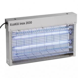 """Kerbl Fliegenvernichter """" EcoKill Inox 2030"""" Silber Stahl 299931"""