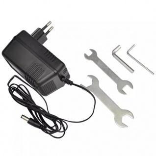 vidaXL Elektroroller klappbar 120 W Rot - Vorschau 5