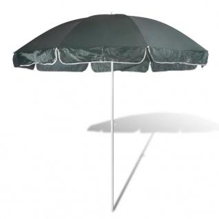 240cm Sonnenschirm Strandschirm Schirm Grün