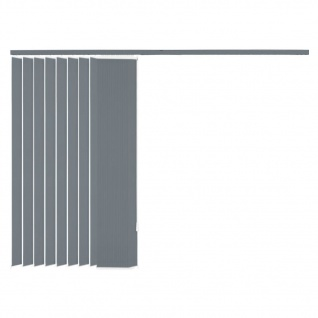 vidaXL Vertikale Jalousien Grau Stoff 120x180 cm - Vorschau 5