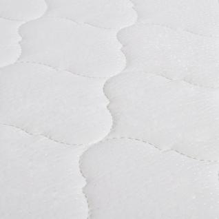 vidaXL Bett mit Memory-Schaum-Matratze Dunkelgrau Stoff 120×200 cm - Vorschau 2