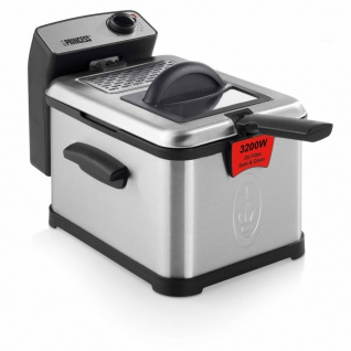 Princess Fritteuse Superior 3 L 3200 W Silber 183001