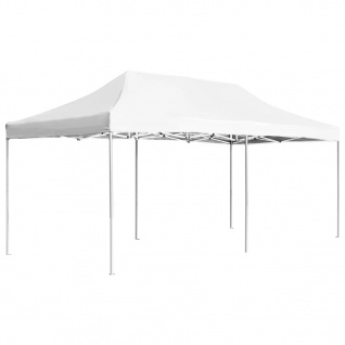 vidaXL Profi-Partyzelt Faltbar Aluminium 6x3 m Weiß