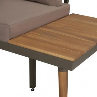 vidaXL 4-tlg. Garten-Lounge-Set mit Auflagen Massivholz Akazie Braun - Vorschau 3