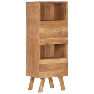 vidaXL Highboard 45x35x123 cm Massivholz Akazie