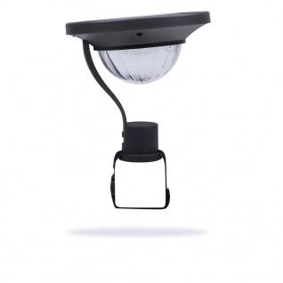Smartwares Solar-Balkonleuchte mit Sensor 0, 2 W Schwarz GBS-001-DB - Vorschau 4
