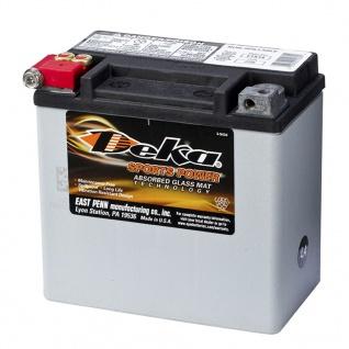 Deka Sports Power AGM Batterie 12 V 12 Ah ETX14