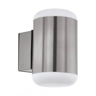 EGLO LED-Außenwandleuchte Merlito Edelstahl