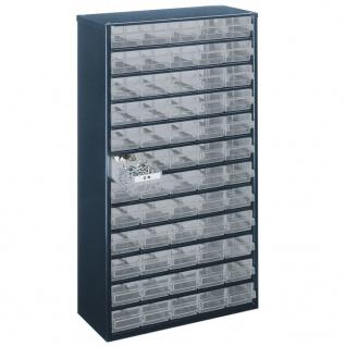 Raaco Schrank 1260-00 mit 60 Schubladen 137386