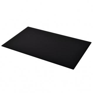 vidaXL Tischplatte aus gehärtetem Glas Rechteckig 1200 x 650 mm