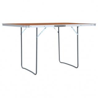 vidaXL Klappbarer Campingtisch Aluminium 180 x 60 cm