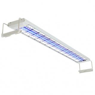 vidaXL Aquarium LED-Lampe 80-90 cm Aluminium IP67