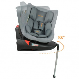 Baninni Autositz Twirl 360 Isofix 0+1 Grau BNCS021-GY