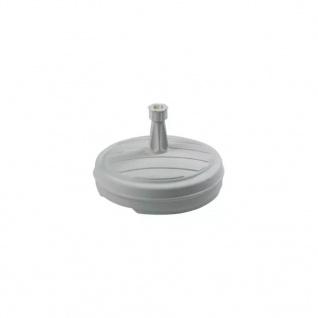EDA Sonnenschirmständer Kunststoff Weiß - Vorschau 1