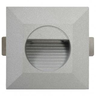 vidaXL Außenwandleuchten 6 Stk. LED 5 W Silbern Quadratisch - Vorschau 5