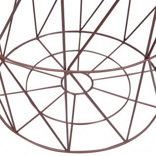 vidaXL Couchtisch Kupfer Ø 47 cm - Vorschau 4