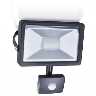 Smartwares LED-Flutlichtstrahler mit Sensor 20 W Schwarz SL1-B20B