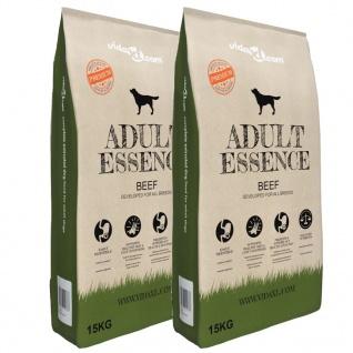 vidaXL Premium-Trockenhundefutter Adult Essence Beef 2 x 15 Kg