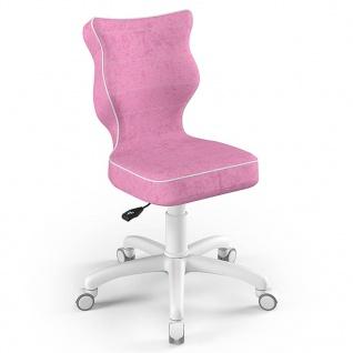 Entelo Good Chair Kinder-Bürostuhl Petit VS08 Ergonomisch Gr.4 Rosa