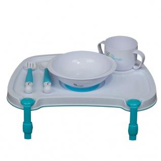 Bo Jungle B-Dinner Tischset mit Besteck und Geschirr Weiß B550500