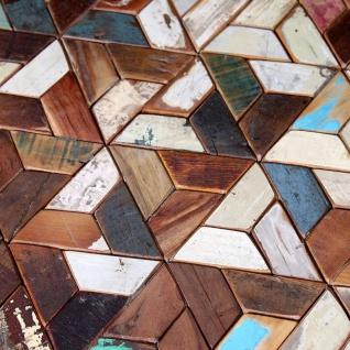 vidaXL Dreiteiliges Couchtisch-Set Recyceltes Massivholz - Vorschau 2