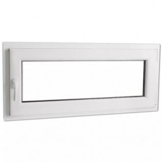 Dreifach Verglast PVC Drehkippfenster+Griff (linke Seite) 900x400mm