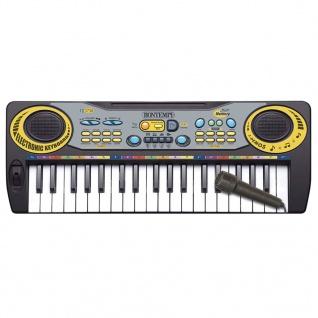 Bontempi Spielzeug E-Keyboard mit Mikrofon 37 Tasten