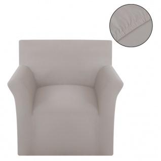 Sofahusse Stretchhusse Sofabezug Beige Baumwoll-Jersey