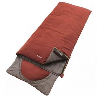 Outwell Schlafsack Contour 225 x 90 cm Rot Ockerfarben 230228