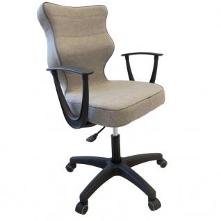 Good Chair Ergonomischer Bürostuhl NORM Grau BA-B-6-B-C-FC03-B