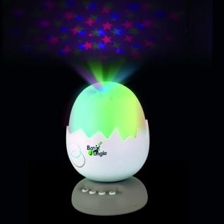 Bo Jungle B-Egg Sternenhimmel-Projektor mit Musik Taupe B80050