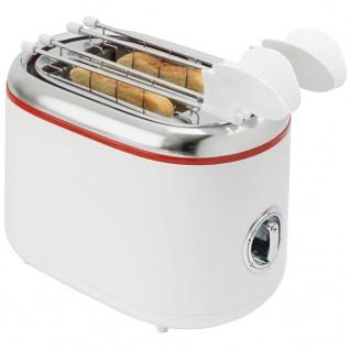 Bestron ATM200RE Sandwichtoaster mit 2 Toast-Halterungen - Vorschau 5