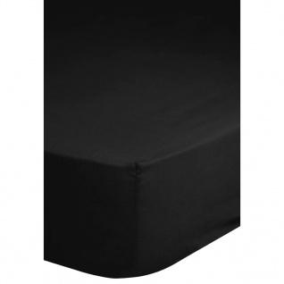 Emotion Spannbettlaken Jersey 180x220 cm Schwarz 0200.04.47