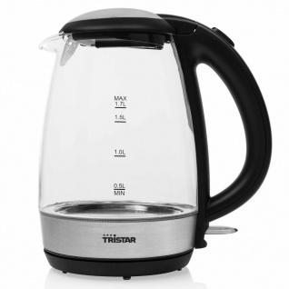 Tristar Wasserkocher 2200 W 1, 7 L Glas