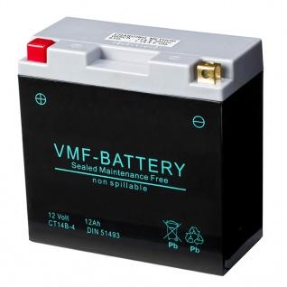 VMF Powersport AGM Batterie 12 V 12 Ah FA YT14B-4