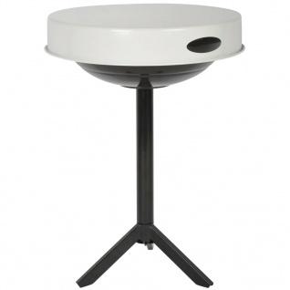 Esschert Design 3in1 Grill und Tisch Karbonstahl Weiß FF236