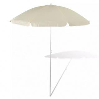 180cm Sonnenschirm Strandschirm Schirm sandfarbe