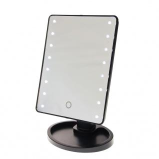 United Entertainment Spiegel mit LED-Beleuchtung Schwarz