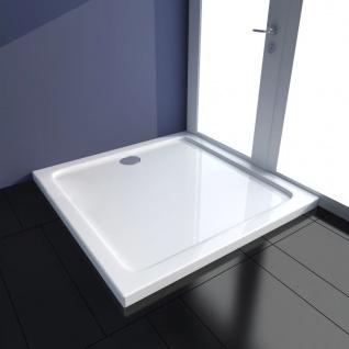 vidaXL Quadratische ABS-Duschtasse 90 x 90 cm