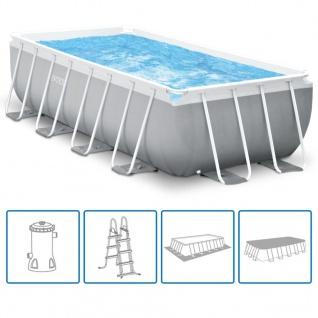 Intex Prism Frame Swimmingpool-Set Rechteckig 488x244x107 cm 26792GN