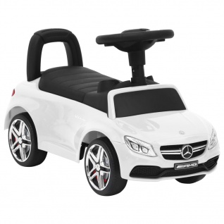 vidaXL Rutschauto Mercedes-Benz C63 Weiß