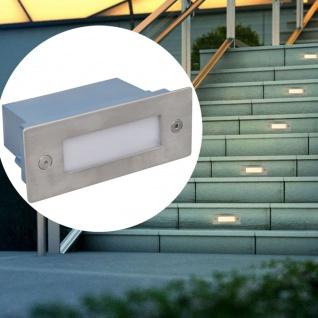 vidaXL LED Einbauleuchte Treppenleuchte 6 stk 44x111x56 mm