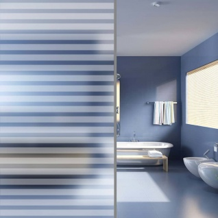 vidaXL Fensterfolie Sichtschutzfolie Streifen Selbstklebend 0, 9x20 m