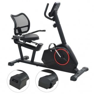 vidaXL Magnetisches Sitz-Ergometer mit Pulsmessung - Vorschau 3